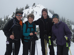 Ski and Snowshoe on Hurricane Ridge