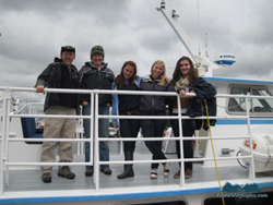 >Whale Watching with Puget Sound Express